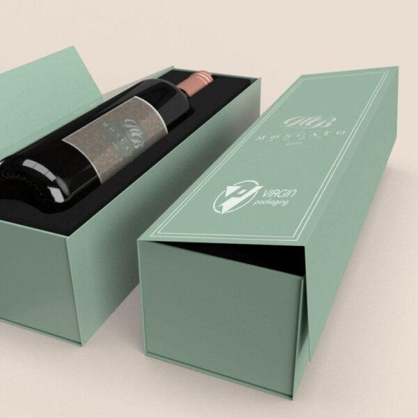 Custom Single Color Rigid Boxes