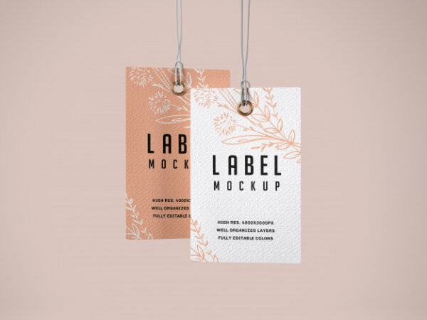 customized hanging tags