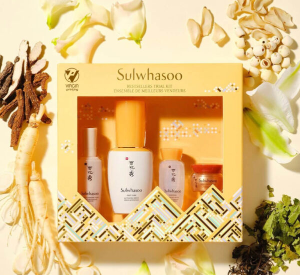 Sulwhasoo Packaging Boxes